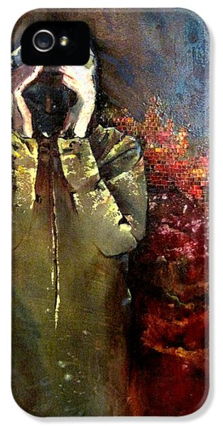 Willful Amnesia IPhone 5 Case by Shadia Derbyshire