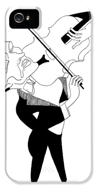 Violin iPhone 5 Case - William Primrose by Granger