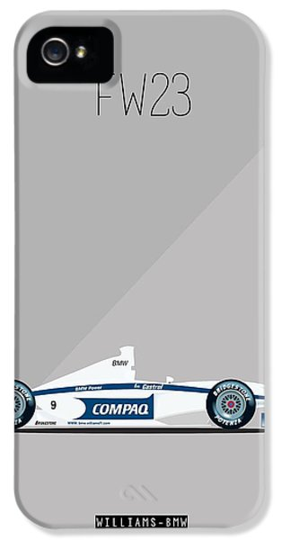 Williams Bmw Fw23 F1 Poster IPhone 5 Case by Beautify My Walls