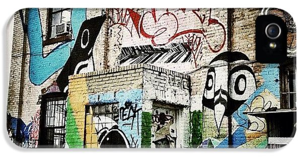 Williamsburg Graffiti IPhone 5 Case by Natasha Marco