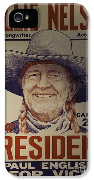 Willie For President IPhone 5 Case