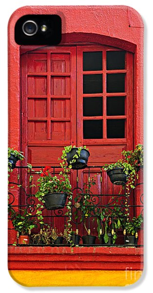 Window On Mexican House IPhone 5 Case
