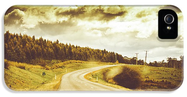 Window To A Rural Road IPhone 5 Case