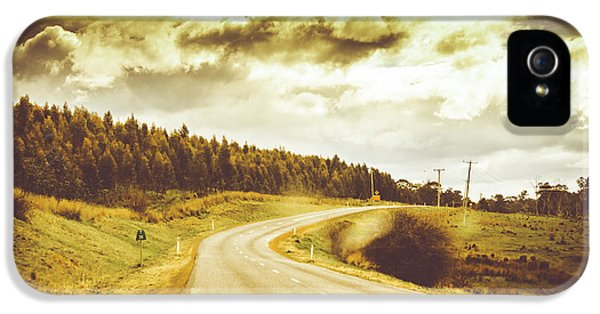Window To A Rural Road IPhone 5 Case by Jorgo Photography - Wall Art Gallery