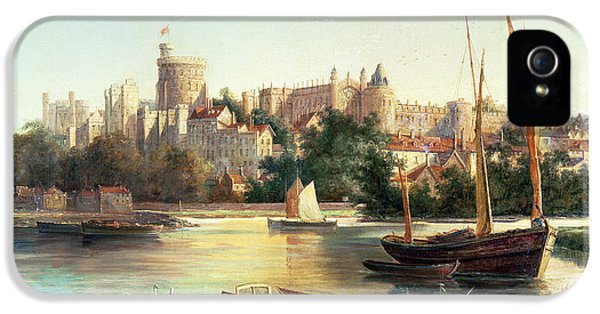 Windsor From The Thames   IPhone 5 Case by Robert W Marshall