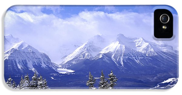 Mountain iPhone 5 Case - Winter Mountains by Elena Elisseeva