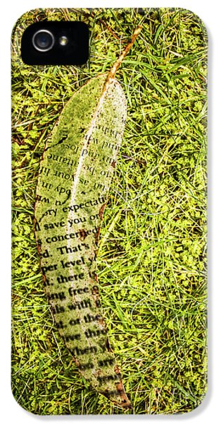 Wisdom In Nature IPhone 5 Case by Jorgo Photography - Wall Art Gallery