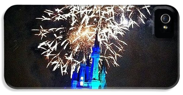 Wishes Fireworks Show IPhone 5 Case by Lea Ward