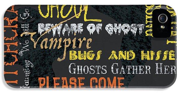 Witchcraft Typography IPhone 5 Case