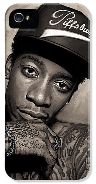 Wiz Khalifa Artwork  IPhone 5 Case