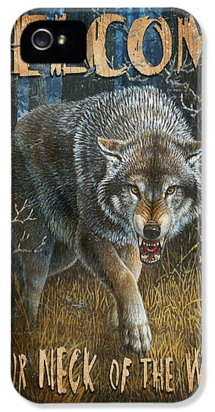 Wold Neck Of The Woods IPhone 5 / 5s Case by JQ Licensing