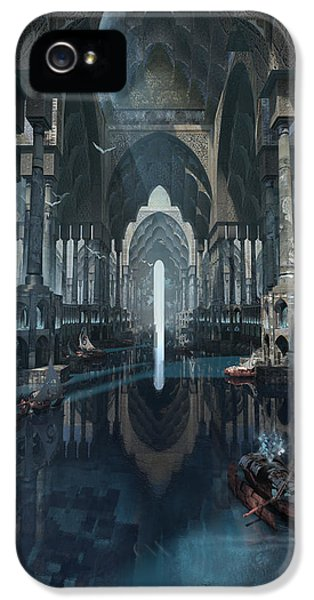 Wonders The Canal Of Isfahan IPhone 5 Case by Te Hu