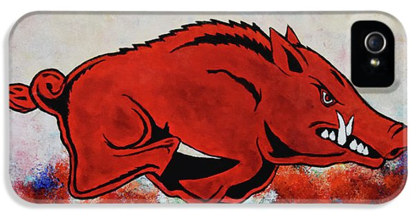 Woo Pig Sooie IPhone 5 / 5s Case by Belinda Nagy