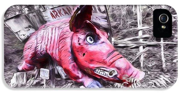 Woo Pig Sooie Digital IPhone 5 Case by JC Findley