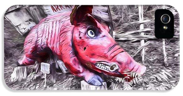 Woo Pig Sooie Digital IPhone 5 Case