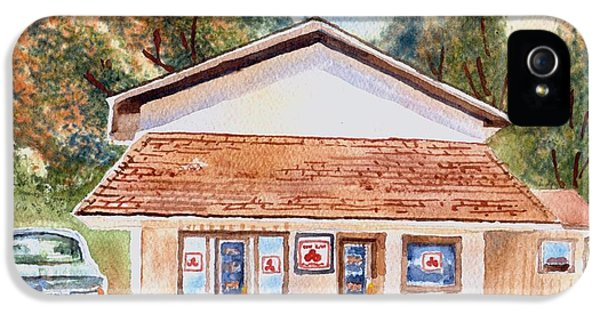 Woodcock Insurance In Watercolor  W406 IPhone 5 Case