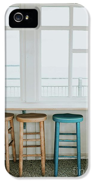 Wooden Chairs By The Window IPhone 5 Case