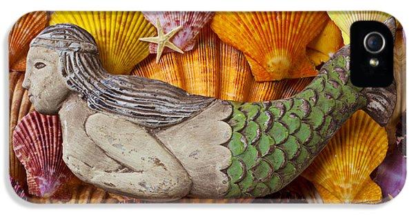 Wooden Mermaid IPhone 5 Case by Garry Gay