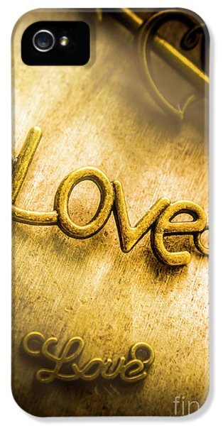 Pendant iPhone 5 Case - Words And Letters Of Love by Jorgo Photography - Wall Art Gallery