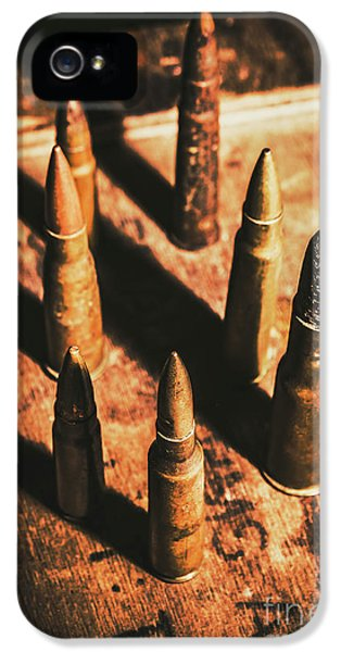 World War II Ammunition IPhone 5 Case by Jorgo Photography - Wall Art Gallery