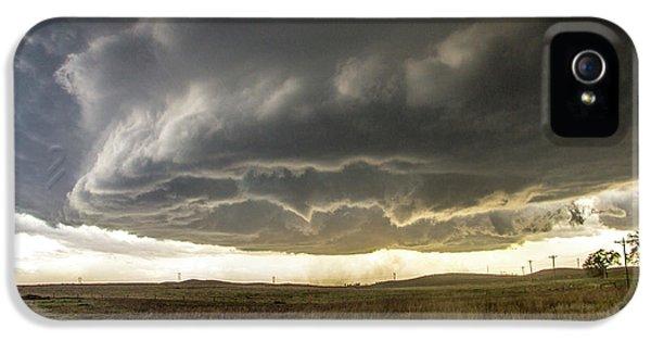 Nebraskasc iPhone 5 Case - Wray Colorado Tornado 021 by NebraskaSC