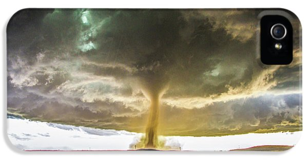 Nebraskasc iPhone 5 Case - Wray Colorado Tornado 070 by NebraskaSC