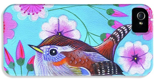 Wren IPhone 5 / 5s Case by Jane Tattersfield