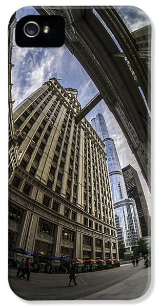 Wrigley And Trump A Fisheye View IPhone 5 Case