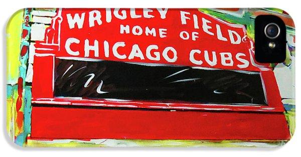 Wrigley Field IPhone 5 Case by Elliott From