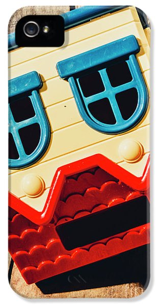 Wrong Way House IPhone 5 Case by Jorgo Photography - Wall Art Gallery