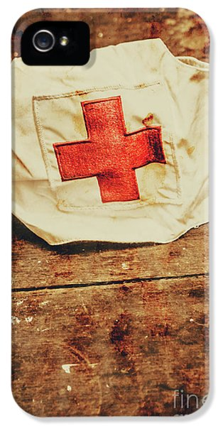 Ww2 Nurse Hat. Army Medical Corps IPhone 5 Case