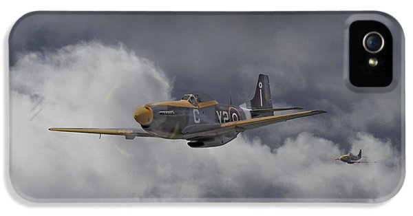 Ww2 - P-51 - I Think We-re Lost IPhone 5 Case