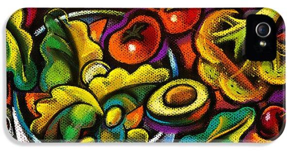 Yammy Salad IPhone 5 Case by Leon Zernitsky