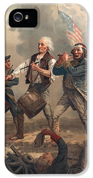 Yankee Doodle Or The Spirit Of 76 IPhone 5 Case by Archibald Willard