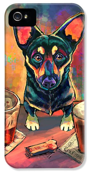 Food And Beverage iPhone 5 Case - Yappy Hour by Sean ODaniels