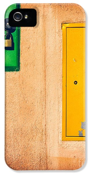 Yellow And Green IPhone 5 Case by Silvia Ganora