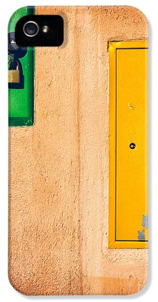 IPhone 5 Case featuring the photograph Yellow And Green by Silvia Ganora