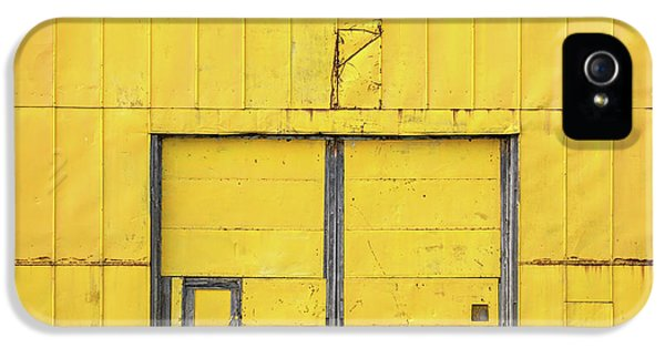 Yellow Wall IPhone 5 Case