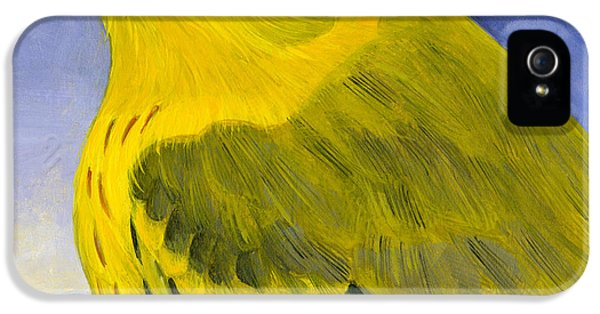Yellow Warbler IPhone 5 Case by Francois Girard