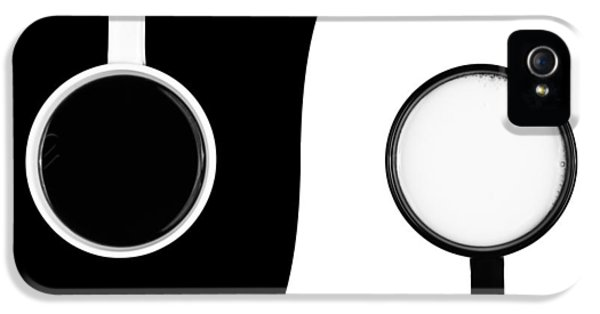 Yin And Yang IPhone 5 Case by Gert Lavsen