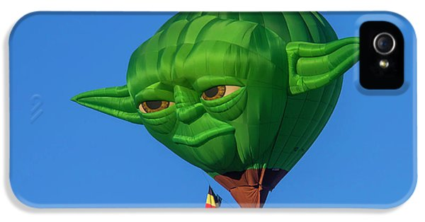 Yoda Hot Air Balloon IPhone 5 Case by Garry Gay