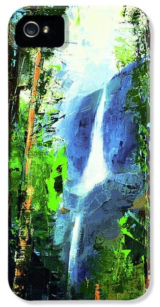 Yosemite Falls IPhone 5 Case by Elise Palmigiani