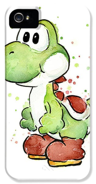Yoshi Watercolor IPhone 5 / 5s Case by Olga Shvartsur