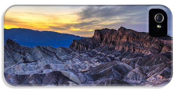Zabriskie Point Sunset IPhone 5 Case by Charles Dobbs