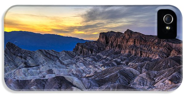 Zabriskie Point Sunset IPhone 5 Case by Charles Dobbs