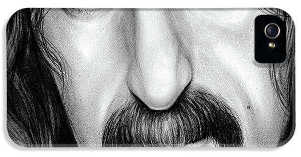 Zappa IPhone 5 Case by Greg Joens