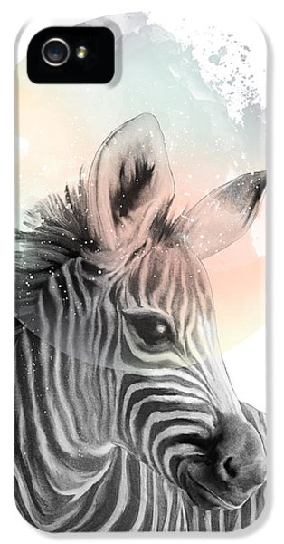 Zebra // Dreaming IPhone 5 Case by Amy Hamilton