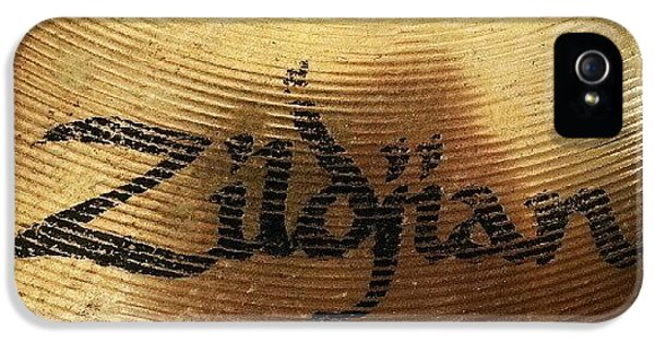#zildjian #drums #drummer #cymbal IPhone 5 Case