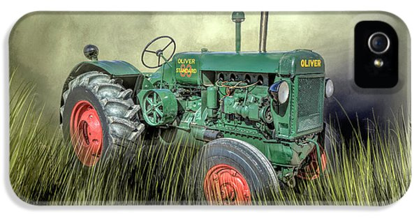 Oliver Tractor iPhone 5 Case - 1944 Oliver 80 Standard by Donna Kennedy