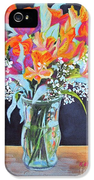 Breathe iPhone 5 Case - A Splash Of Color by Kathy Braud